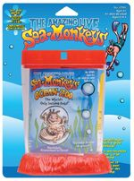 Seamonkey Ocean Zoo Blistercard by Amazing Live Sea-monkeys